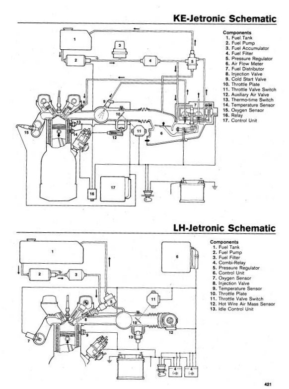 bosch l jetronic wiring diagram  u2013 wiring diagrams